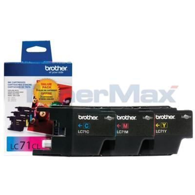 BROTHER MFC-J280W INK CARTRIDGE CMY VALUE PACK